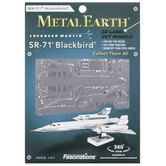 SR-71 Blackbird Metal Earth Model Kit